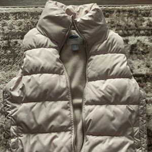 Old Navy Frost-Free Quilted Puffer Vest